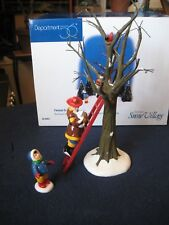 Department 56 Snow Village ~ Fireman To The Rescue ~ #56.54953 (set of 3)