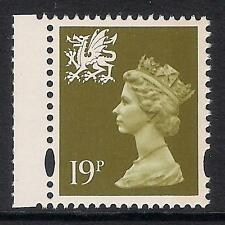 Wales 1995 W71 19p litho right band booklet stamp MNH