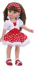 Paola Reina Bekleidung mit Schuhen für 32 cm Puppen Kleid mit Bolero