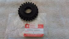 NEW GENUINE SUZUKI 3RD GEAR DRIVEN, 24331-43D11, 96-00 RM125