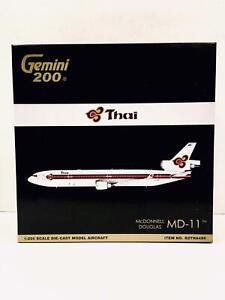 Gemini Jets 1:200 Thai Airways MD-11 HS-TME G2THA495 1990s colour