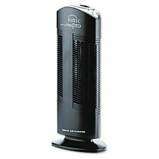 Ionic Pro Compact Ionic Air Purifier, 250 Sq Ft Room Capacity, Black