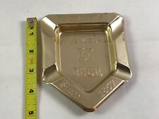 Vintage Stegmaier's Gold Medal Beer Advertising Tin Ashtray