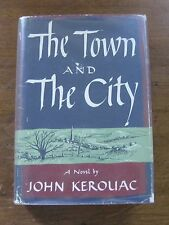 SIGNED - THE TOWN AND THE CITY by Jack Kerouac -  1st/1st HCDJ 1950 - $3.50