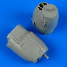 Quickboost 1/72 P-38J Lightning correct Engine Covers for Academy # 72418