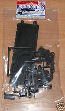 Tamiya 54446 XV-01 carbono reforzado k&kk Partes (Brazo De Dirección & batttery escotilla)