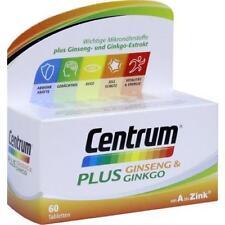 Centrum plus Ginseng & Ginkgo Tabletten 60st PZN 12526569