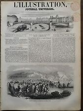 L'ILLUSTRATION 1851 N 430 ATTAQUE DU CT.DE PHILIPPEVILLE PAR LES ARABES A COLLO