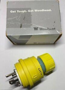 Daniel Woodhead 28W49 Nema L7-30 Watertite 30A 277V Plug with Neotex Rubber New