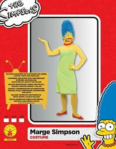 Rubie's Official The Simpsons Marge, Adult Costume - medium 12-14