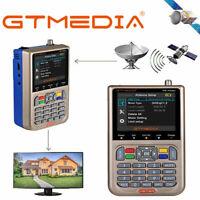 Satelliten Finder Messgerät DVB-S2/S2X 3.5''HD Digital LCD GTMedia V8 Satfinder