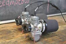 Kawasaki kz440 kz400 Genuine Mikuni VM30  Carburetor Kit w/ Cable twin carb