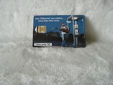 Télécarte Carte Téléphonique France 50 U une cabine vous êtes chez vous  (242)