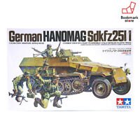 NEW TAMIYA 1/35 German Hanomag Sd.kfz.251/1 Armored Half-track TM35020 Model Kit