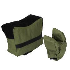 Large SHOOTING BAG SET Front & Rear Bags Gun Rest Range Rifle Target Hunting GG