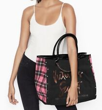 Victoria's Secret CITY ANGEL Tote Bag With Cute Chain Detail NWT inside pocket