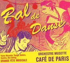Orchestre musette CAFE de paris-bal de danse Chrysi taoussanis Bernhard Mohl