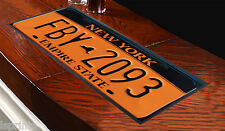 NEW YORK TARGA MODELLO BAR RUNNER BAR TAPPETINO OTTIMA IDEA REGALO PUB MAZZE