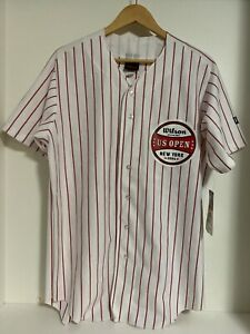 Vintage 2006 US Open Tennis Jersey New York WILSON OFFICIAL BALL Mens Large New