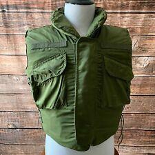 US Military Vietnam Vintage Body Armor Fragmentation Vest Made w/ Kevlar-OD-Med