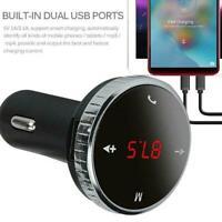 Wireless Bluetooth FM Transmitter Modulator Car Kit MP3-Player Fernzugriff H7M9