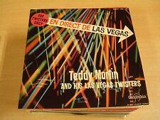 45T EP / TEDDY MARTIN AND HIS LAS VEGAS TWISTERS - TWISTIN' THE TWIST