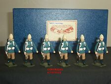 KING AND COUNTRY VINTAGE GLOSS BRITISH CAMEL CORPS METAL TOY SOLDIER FIGURE SET