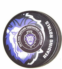 READING ROYALS 2013 ECHL Eastern Conference Champions SOUVERNIR PUCK Team Logo