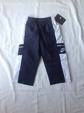 Toddler Boys Nike Polyester Solid Athletic Long Pants Blue Size 2T NWT $30
