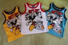 Disney Micky Maus Tanktop/T-Shirt/Shirt/Tank Top ärmellos/100%Baumwolle