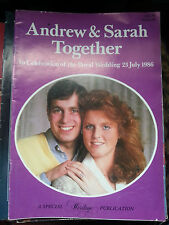 Andrew & Sarah Together in celebration of the Royal Wedding 23 July 1986