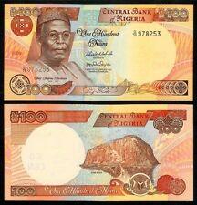 NIGERIA 100 NAIRA 2009 P 28i UNCIRCULATED