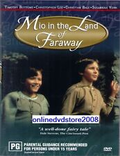 MIO in the LAND of FARAWAY (Christopher LEE Susannah YORK) DVD NEW SEALED Reg 4