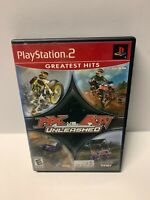 MX vs. ATV Unleashed (Sony PlayStation 2/PS2, 2005) Complete CIB, Tested, Works