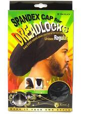 cd4cc6ad147 King J Spandex Cap Dreadlocks Unisex Regular Ultra Stretch Cover Loc Black  Color