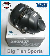 ZEBCO 808 Spincast Reel #808H FREE USA SHIPPING! 2.6:1 Gear Ratio BRAND NEW!