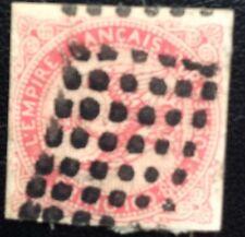 Colonies Françaises N° 6 80 C Rose Oblitéré Gros Points TB choix Cote 70€