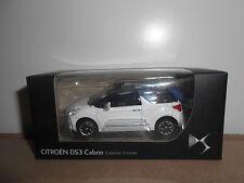 31.10.16.1 Citroën DS3 DS 3 cabriolet cabrio blanc Norev 3 inch