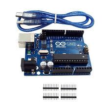 ARDUINO UNO R3 ATmega328P CH340G ATmega16U2 Development Board + USB Cable W87
