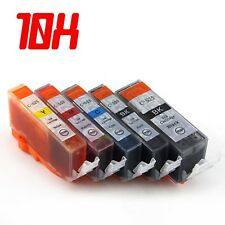 10x Ink Cartridges PGI525 CLI526 GY for Canon MG5350 IP4950 MG5150 iP4850 MX885