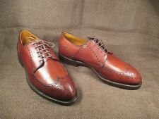 Foot Joy Rex Brown Leather Men's Golf Shoes Rare SIZE 10 E/extra wide/