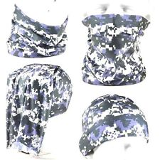 MULTI SCARF NECK FACE HEAD SOCK TUBE MASK BAND Fishing Digicam Camoflage Camping