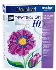 ✅PE Design 10 Embroidery Complete - PC Download  Version + Gifts - Preactivated