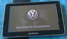 Used Garmin Sat Nav & Cradle Pouch Lead VW UP Fits Seat IBIZA,Mii & Skoda Citigo