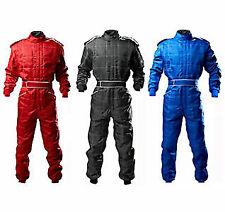 Go Kart Cordura Race Suit BLACK-RED-BLUE -Mega sale Introductory offer