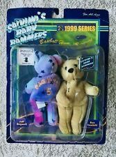 Salvino's Baby Bammers Pair Teddies Baseball 1999 Series Bagwell  Ken Caminiti *