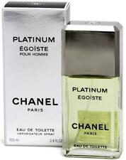 Chanel Egoiste Platinum EDT  100ml  3.4oz Men's