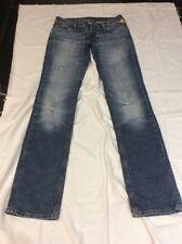 RINGSPUN Denim Jeans W28 L34 Ripped Knee Distressed Finish Ex Cond