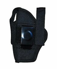 Ambidextrous Gun Belt Holster w Pouch Fits Small Mini 9mm .45 .380 Size 06 260B