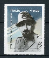 Italy 2016 MNH WWII WW2 Teresio Olivelli Italian Resistance 1v S/A Set Stamps
